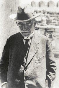 Aby Warburg in Neapel, 1929 (Foto: František Pospíšil. Courtesy The Warburg Institute)