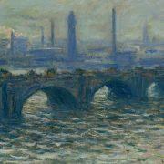 Claude Monet: Die Waterloo-Brücke (Foto: Hamburger Kunsthalle / bpk; Elke Walford)