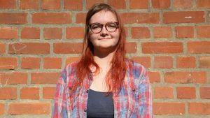 Sally Rikke Bohm, Referentin für Öffentlichkeitsarbeit und Presse des AStA der Universität Hamburg (Foto: Sally Bohm)