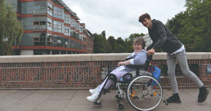Menschen mit Behinderung einen gleichberechtigten Alltag ermöglichen (Foto: mbhh/Eibe Maleen Krebs)